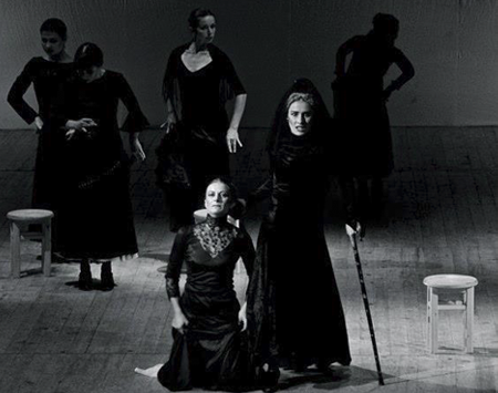 The House of Bernarda Alba Scene