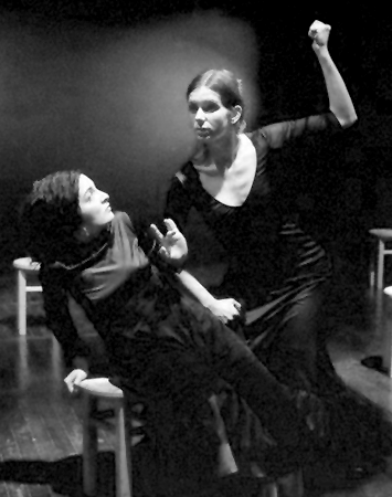 silence in the house of bernarda Silence lorca found the inspiration and source for his play the house of bernarda alba in a well our basis for staging of the play is a window.